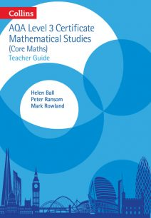 AQA Level 3 Mathematical Studies Teacher Guide (AQA Core Maths)