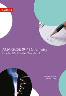 AQA GCSE Chemistry 9-1 Grade 8/9 Booster Workbook (GCSE Science 9-1)