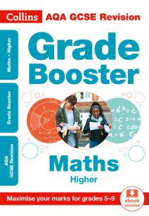 AQA GCSE Maths Higher Grade Booster for grades 5-9 (Collins GCSE 9-1 Revision)