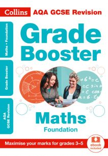AQA GCSE Maths Foundation Grade Booster for grades 3-5 (Collins GCSE 9-1 Revision)