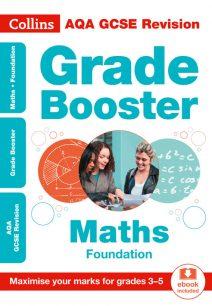 AQA GCSE Maths Foundation Grade Booster for grades 3-5 (Collins GCSE 9-1 Revision)
