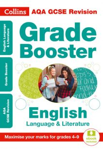 AQA GCSE English Language And English Literature Grade Booster for grades 4-9 (Collins GCSE 9-1 Revision)