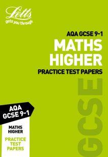 AQA GCSE Maths Higher Practice Test Papers (Letts GCSE 9-1 Revision Success)