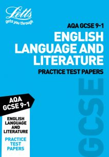 AQA GCSE English Language and Literature Practice Test Papers (Letts GCSE 9-1 Revision Success)