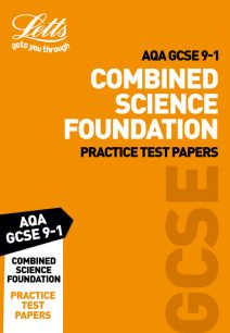 AQA GCSE Combined Science Foundation Practice Test Papers (Letts GCSE 9-1 Revision Success)