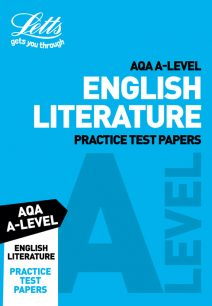 Letts A-Level Revision Success - AQA A-Level English Literature Practice Test Papers