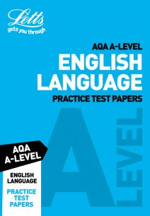Letts A-Level Revision Success - AQA A-Level English Language Practice Test Papers