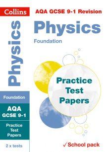 AQA GCSE Physics Foundation Practice Test Papers (Collins GCSE 9-1 Revision)