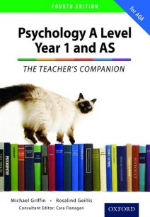 The Complete Companions: Year 1 and AS Teacher's Companion for AQA Psychology - Rosalind Geillis