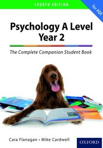 The Complete Companion for AQA Psychology A Level: Year 2 Student Book - Mike Cardwell