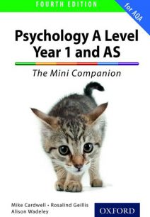 The Complete Companions: A Level Year 1 and AS Psychology: The Mini Companion for AQA - Mike Cardwell