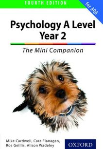The Complete Companions for AQA: A Level Year 2 Psychology: The Mini Companion - Mike Cardwell