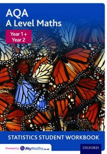 AQA A Level Maths: Year 1 + Year 2 Statistics Student Workbook (Pack of 10) - David Baker