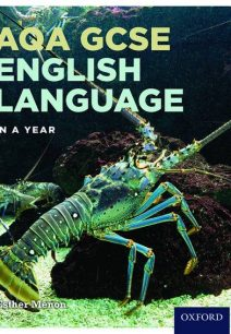 AQA GCSE English Language in a Year Student Book - Esther Menon