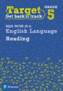 Target Grade 5 Reading AQA GCSE (9-1) English Language Workbook - David Grant