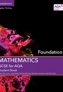 GCSE Mathematics for AQA Foundation Student Book - Karen Morrison