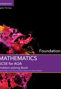 GCSE Mathematics for AQA Foundation Problem-solving Book - Tabitha Steel