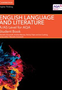 A/AS Level English Language and Literature for AQA Student Book - Jane Bluett