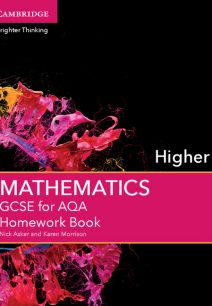 GCSE Mathematics for AQA Higher Homework Book - Nick Asker