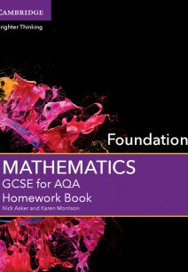GCSE Mathematics for AQA Foundation Homework Book - Nick Asker