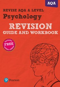 Revise AQA A Level Psychology Revision Guide and Workbook: (with free online edition) - Sarah Middleton