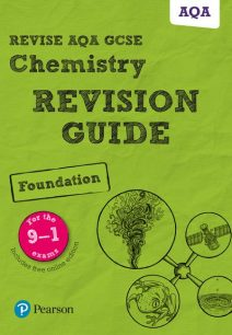 Revise AQA GCSE Chemistry Foundation Revision Guide - Mark Grinsell