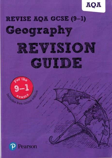 Revise AQA GCSE Geography Revision Guide: (with free online edition)