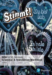Stimmt! AQA GCSE German Grammar and Translation Workbook - Jon Meier