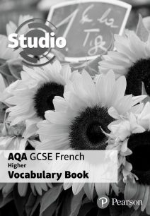Studio AQA GCSE French Higher Vocab Book (pack of 8) - Angela Stanley