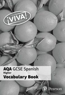 Viva! AQA GCSE Spanish Higher Vocab Book (pack of 8) - Penny Fisher