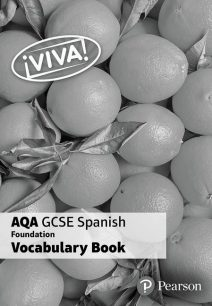!Viva! AQA GCSE Spanish Foundation Vocabulary Book (pack of 8) - Pearson Education Limited