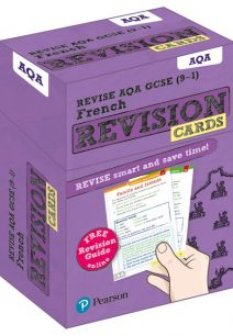 Revise AQA GCSE (9-1) French Revision Cards: with free online Revision Guide - Pearson Education Limited