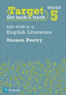 Target Grade 5 Unseen Poetry AQA GCSE (9-1) Eng Lit Workbook - David Grant