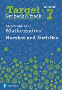 Target Grade 7 AQA GCSE (9-1) Mathematics Number and Statistics Workbook - Diane Oliver