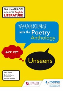 AQA GCSE English Literature Working with the Poetry Anthology and the Unseens Student Book - Alan Howe