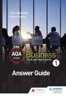 AQA A Level Business 1 Third Edition (Wolinski & Coates) Answers - John Wolinski
