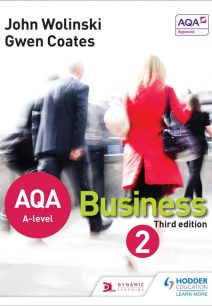 AQA A Level Business 2 Third Edition (Wolinski & Coates) - John Wolinski
