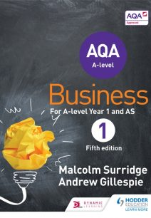 AQA Business for A Level 1 (Surridge & Gillespie) - Malcolm Surridge