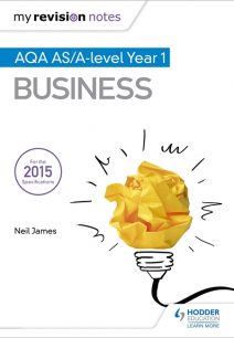 My Revision Notes: AQA AS Business Second Edition - Neil James