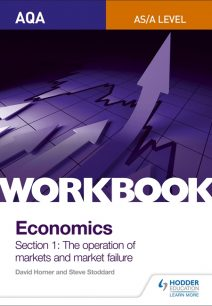 AQA AS/A-Level Economics Workbook Section 1: The operation of markets and market failure - Steve Stoddard