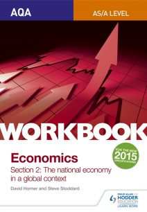 AQA AS/A-Level Economics Workbook Section 2: The national economy in a global context - David Horner