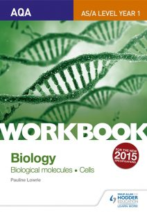 AQA AS/A Level Year 1 Biology Workbook: Biological molecules; Cells - Pauline Lowrie