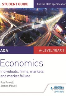 AQA A-level Economics Student Guide 3: Individuals