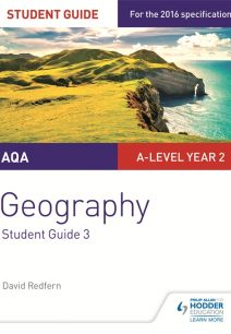 AQA A-level Geography Student Guide 3: Hazards; Population and the Environment - David Redfern