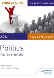 AQA AS/A-level Politics Student Guide 2: Politics of the UK - Nick Gallop