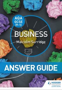 AQA GCSE (9-1) Business Answer Guide - Malcolm Surridge