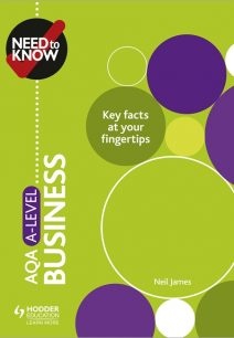 Need to Know: AQA A-level Business - Neil James