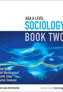 AQA A Level Sociology: Book 2 - Rob Webb