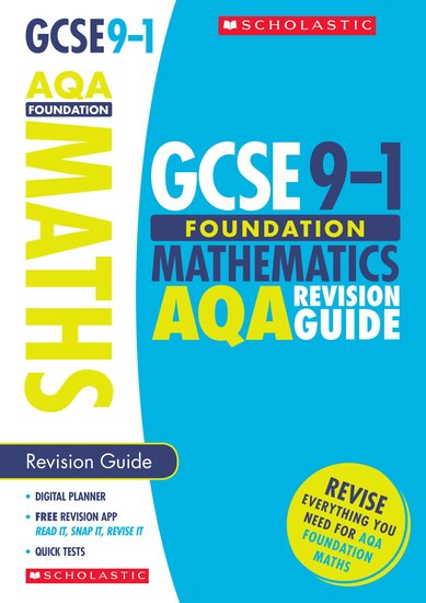 Maths Foundation Revision Guide for AQA - Catherine Murphy