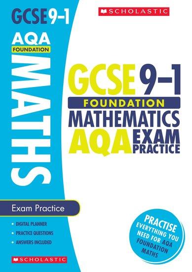 Maths Foundation Exam Practice Book for AQA - Naomi Norman